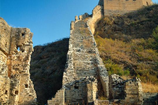 jinshanling to simatai great wall hiking